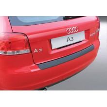 Накладка на задний бампер Audi A3/S3 3D (2008-2012)