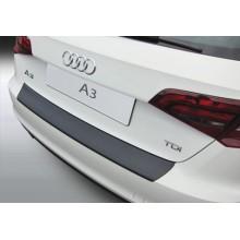 Накладка на задний бампер Audi A3 Sportback 5D (2012-)