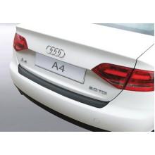 Накладка на задний бампер Audi A4 4D (2007-2012)