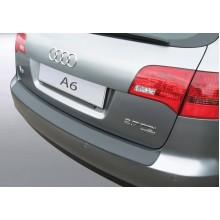 Накладка на задний бампер Audi A6 Avant / Allroad (2004-2011)