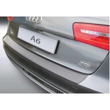Накладка на задний бампер Audi A6 Avant / Allroad (2011-2014)