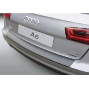 Накладка на задний бампер Audi A6 Avant / S-line (2014-)