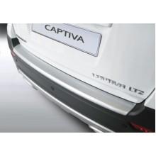 Накладка на задний бампер Chevrolet Captiva (2013-)