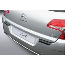Накладка на задний бампер Citroen C4 5D (2010-)
