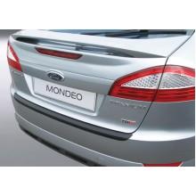 Накладка на задний бампер полиуретановая Ford Mondeo 5D (2007-2010)