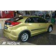 Молдинги на двери Rider F-16/14 Honda Civic IX 5D (2012-)