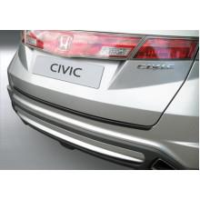 Накладка на задний бампер Honda Civic 5D (2006-2011)