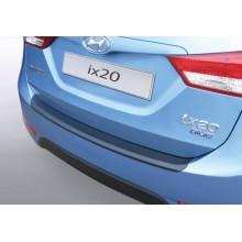 Накладка на задний бампер Hyundai ix20 (2010-)