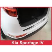 Накладка на задний бампер Kia Sportage IV (2016-)