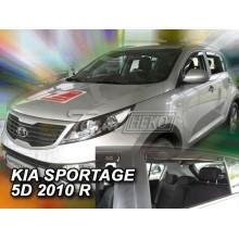 Дефлекторы боковых окон Heko для Kia Sportage III (2010-2015)