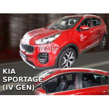 Дефлекторы боковых окон Heko для Kia Sportage IV (2016-2019)
