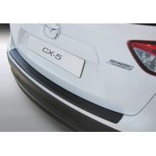 Накладка на задний бампер Mazda CX-5 (2012-)