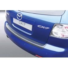 Накладка на задний бампер Mazda CX-7 (2007-2009)