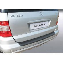 Накладка на задний бампер Mercedes ML W163 (2001-2004)