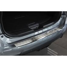 Накладка на задний бампер Nissan X-Trail (2014-)