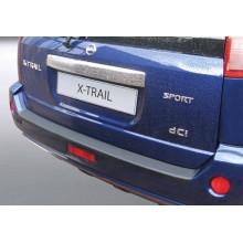 Накладка на задний бампер полиуретановая Nissan X-Trail (2003-2007)