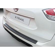 Накладка на задний бампер полиуретановая Nissan X-Trail (2014-)