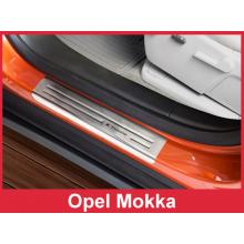 Накладки на пороги Opel Mokka (2012-)