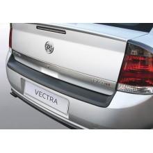 Накладка на задний бампер полиуретановая OPEL VECTRA 5D (2002-2008)