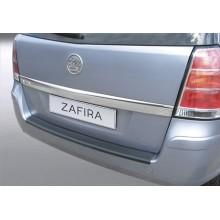 Накладка на задний бампер полиуретановая OPEL ZAFIRA 5D (2005-)