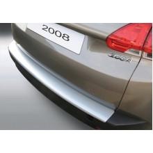 Накладка на задний бампер Peugeot 2008 (2013-)