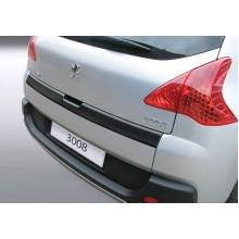Накладка на задний бампер Peugeot 3008 (2009-)