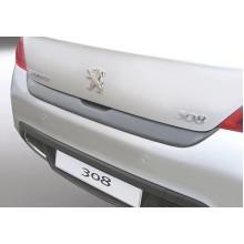 Накладка на задний бампер Peugeot 308 3/5D (2007-2013)