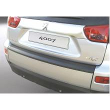 Накладка на задний бампер Peugeot 4007 (2007-2012)