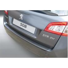 Накладка на задний бампер Peugeot 508 SW (2011-)