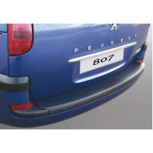 Накладка на задний бампер Peugeot 807 (2002-)