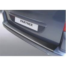Накладка на задний бампер Peugeot Partner MK2 (2008-)