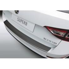 Накладка на задний бампер Skoda Superb 5D Combi (2015-)