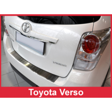 Накладка на задний бампер Toyota Verso (2013-)