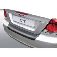 Накладка на задний бампер полиуретановая VOLVO C70 (2006-2009)