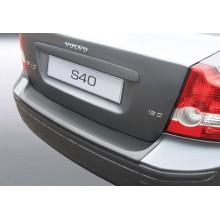 Накладка на задний бампер полиуретановая VOLVO S40 (2004-2007)