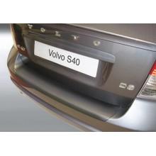 Накладка на задний бампер полиуретановая VOLVO S40 (2007-)