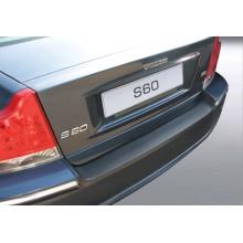 Накладка на задний бампер полиуретановая VOLVO S60 (2006-2007)