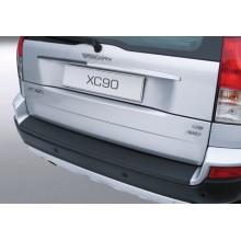 Накладка на задний бампер полиуретановая VOLVO XC90 (-2015)
