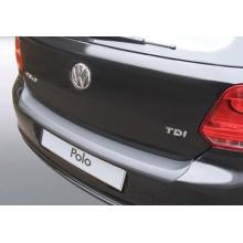 Накладка на задний бампер полиуретановая VW Polo 3D/5D (2009-2014)