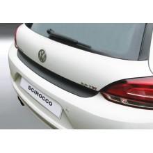 Накладка на задний бампер полиуретановая VW SCIROCCO 3D (2008-)