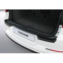 Накладка на задний бампер VW Tiguan (2008-)